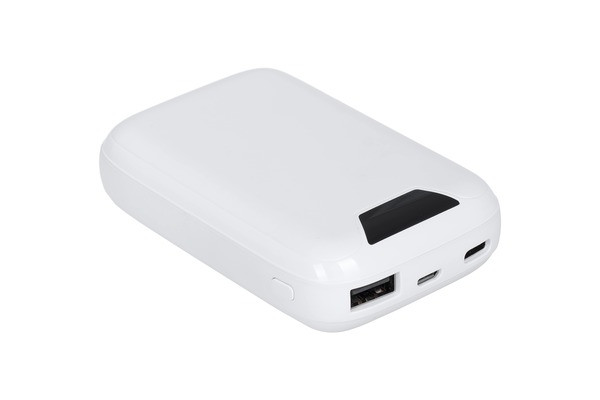 Power Bank ERGO LP-С12 - 10000 mAh Li-pol TYPE-C (Белый)