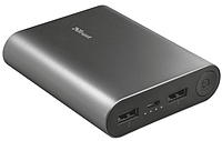 Power Bank TRUST Luco metal powerbank 10000, фото 1