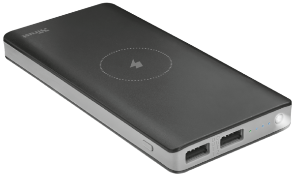 Power Bank TRUST Primo Wireless Charging 8000