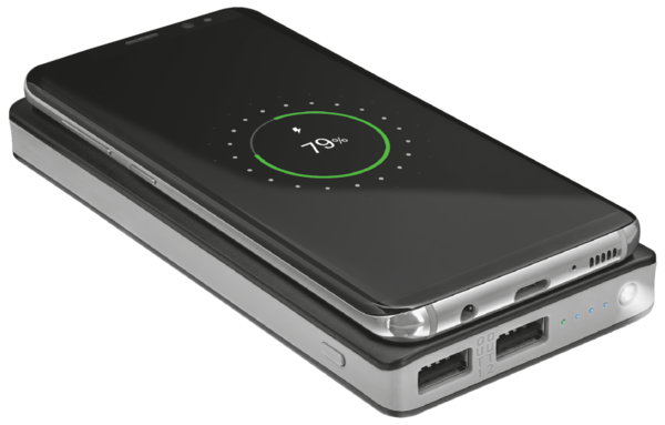 Power Bank TRUST Primo Wireless Charging 8000, фото 2