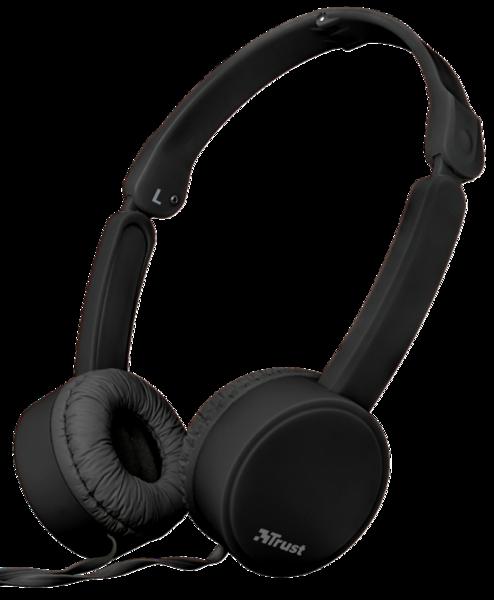 Наушники TRUST Nano Foldable Headphones Black