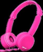 Наушники TRUST Nano Foldable Headphones Pink, фото 1