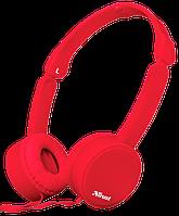 Наушники TRUST Nano Foldable Headphones Red, фото 1