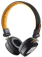 Наушники TRUST Urban Revolt Fyber headphone Black/Orange, фото 1