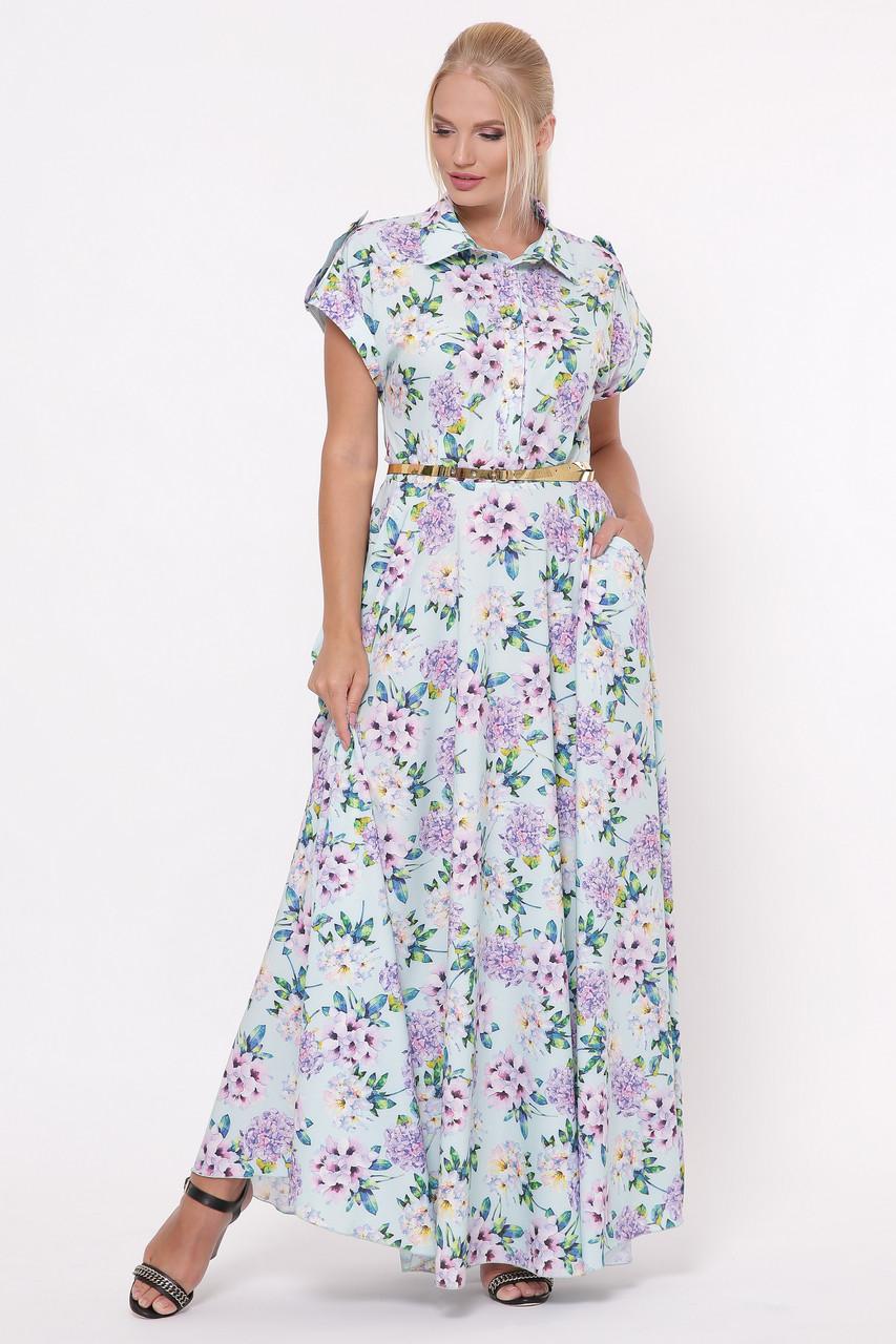 Платье Алена принт