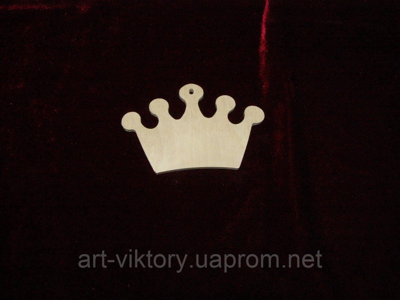 Подвес корона ( 10 х 6 см)