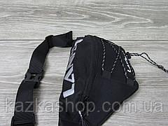 Большая мужская бананка, барыжка, сумка на пояс, с накатом, полиэстер, фото 3