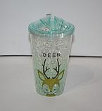 Охлаждающий стакан с эффектом льда 450 мл , фото 5