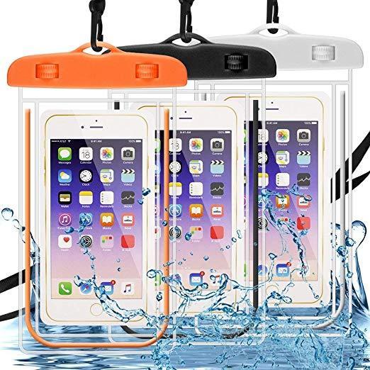Водонепроникні чохли для телефонів