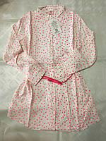 Рубашка платье для девочек   134 / 164 см