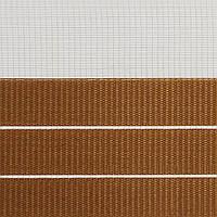 Готовые рулонные шторы Ткань ВМ-2203 Коричневый