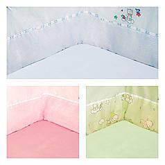 Защита для детской кроватки ТМ Ярослав разные цвета