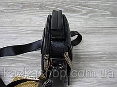 Мужская сумка через плечо черного цвета из искусственной кожи, несколько отделов, без клапана 19х16 см, фото 2