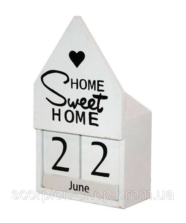 "Вечный календарь ""Sweet home"" Размер: 18*10,5^6 см"