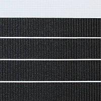 Готовые рулонные шторы Ткань ВМ-2204 Чёрный