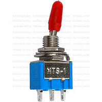 Тумблер MTS-103 (ON-OFF-ON), 3pin, 3A 250VAC