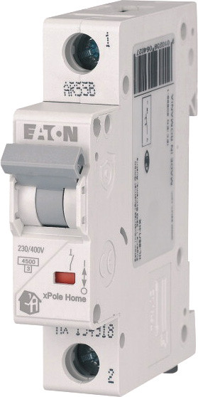 1 пол., 63А, 4.5кА, С, EATON, Автоматичний вимикач, HL-C63/1 [194737]