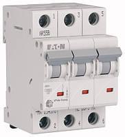 3 пол., 40А, 4.5кА, С, EATON, Автоматичний вимикач, HL-C40/3 [194795]