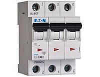 3 пол., 40А, 6кА, С, EATON, Автоматичний вимикач, PL6-C40/3 [286605]