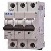 3 пол., 50А, 6кА, С, EATON, Автоматичний вимикач, PL6-C50/3 [286606]