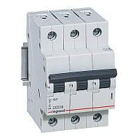 3 пол., 40А, 4,5кА, С, Legrand, Автоматичний вимикач, RX3 [419712]