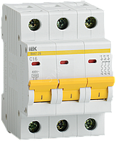 Автоматический выключатель ВА47-29 3Р 16А 4,5кА С ІЕК [MVA20-3-016-C] ИЕК