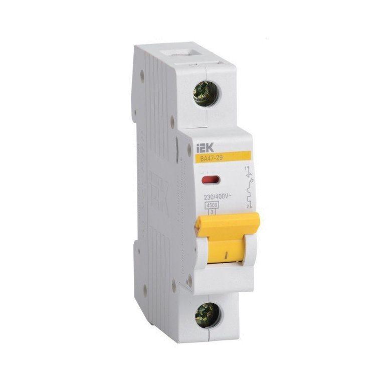 Автоматический выключатель ВА47-100 1Р 80А 10кА С ІЕК [MVA40-1-080-C] ИЕК