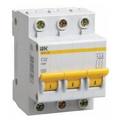 Автоматический выключатель ВА47-100 3Р 32А 10кА С ІЕК [MVA40-3-032-C] ИЕК