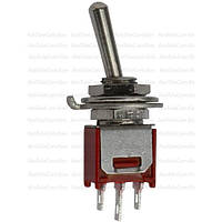 Тумблер SMTS-103-2А1 (ON-OFF-ON), 3pin, 3A, 250VAC