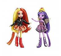 Кукла пони Сансет Шиммер и Твайлайт Спаркл My Little Pony Sunset Shimmer Twilight Sparkle