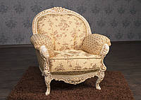 """Мягкое кресло в стиле Рококо """"Ника"""" от производителя, мягкая мебель стиль Барокко, французский стиль, классика"""