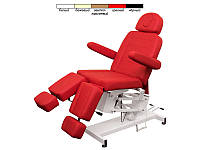 Педикюрное кресло  модель 3706 (1 мотор) ( Белый / Бежевый / Черный / Светло-коричневый )