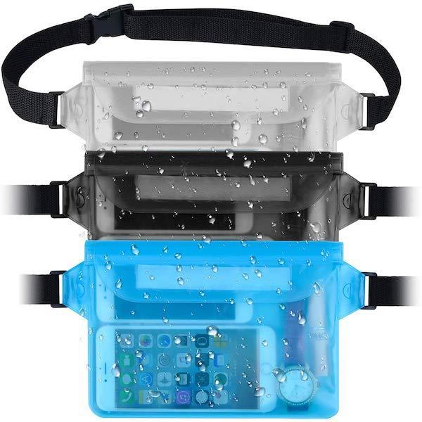 Водонепроницаемые сумки для смартфона и документов