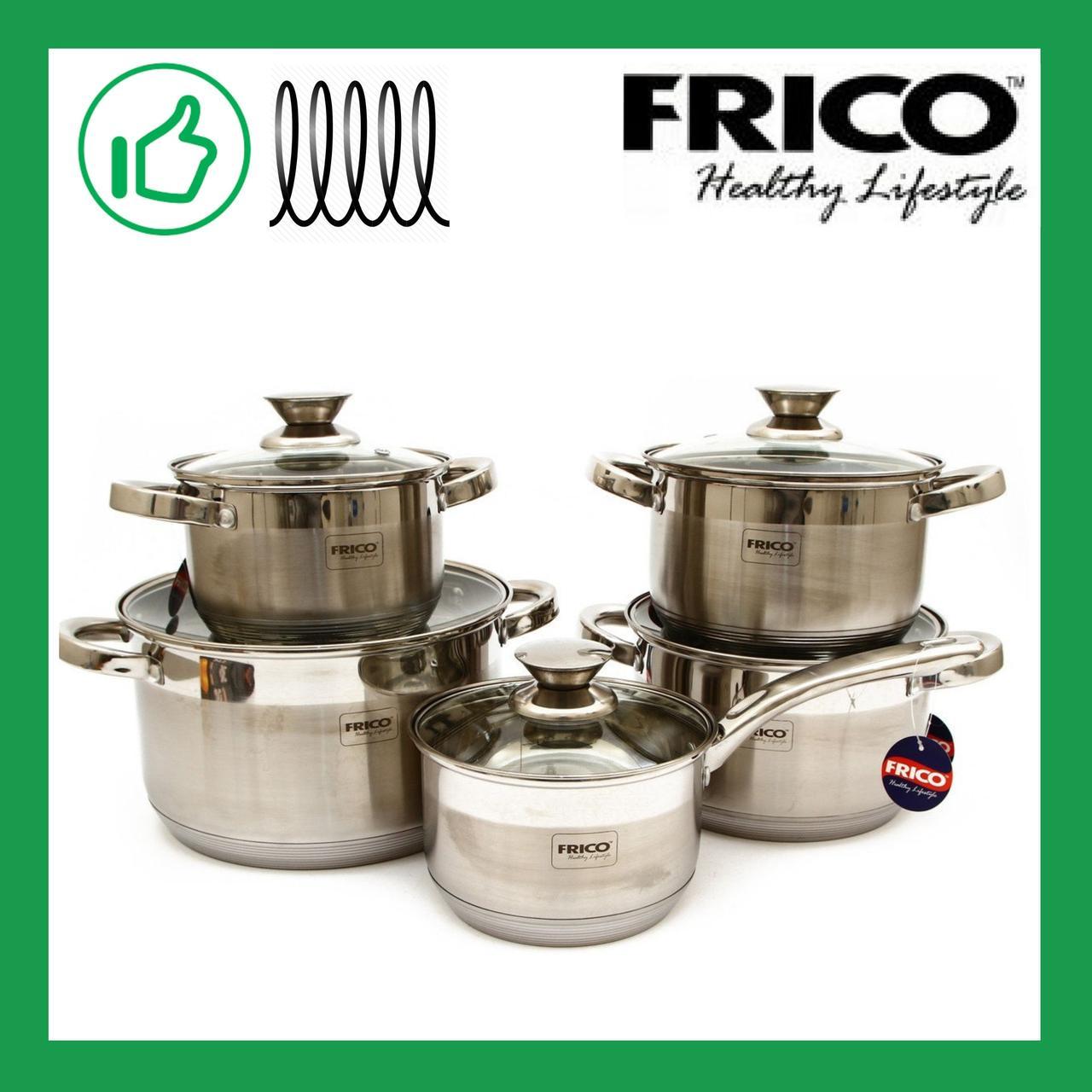 Набор посуды из 10 предметов Frico (FRU-710)