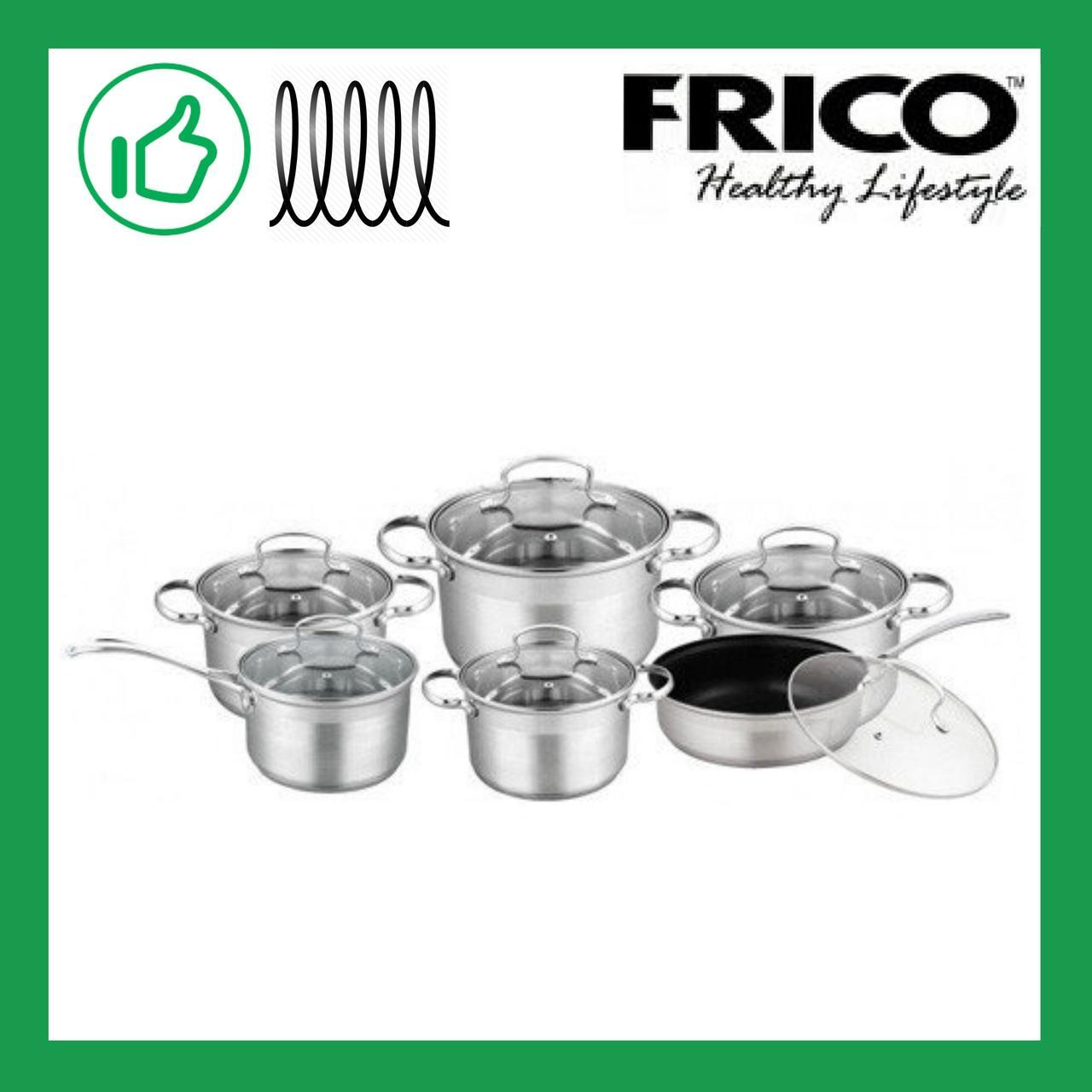 Набор посуды из 12 предметов Frico (FRU-740/FRU-749)