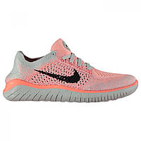 Кроссовки Nike Free Run Flyknit Pink/Black,  (10134314)