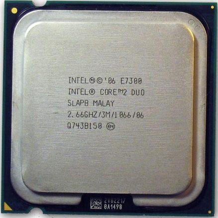 """Процессор Intel Core 2 Duo E7300 2.67GHz Б\У """"Over-Stock"""""""