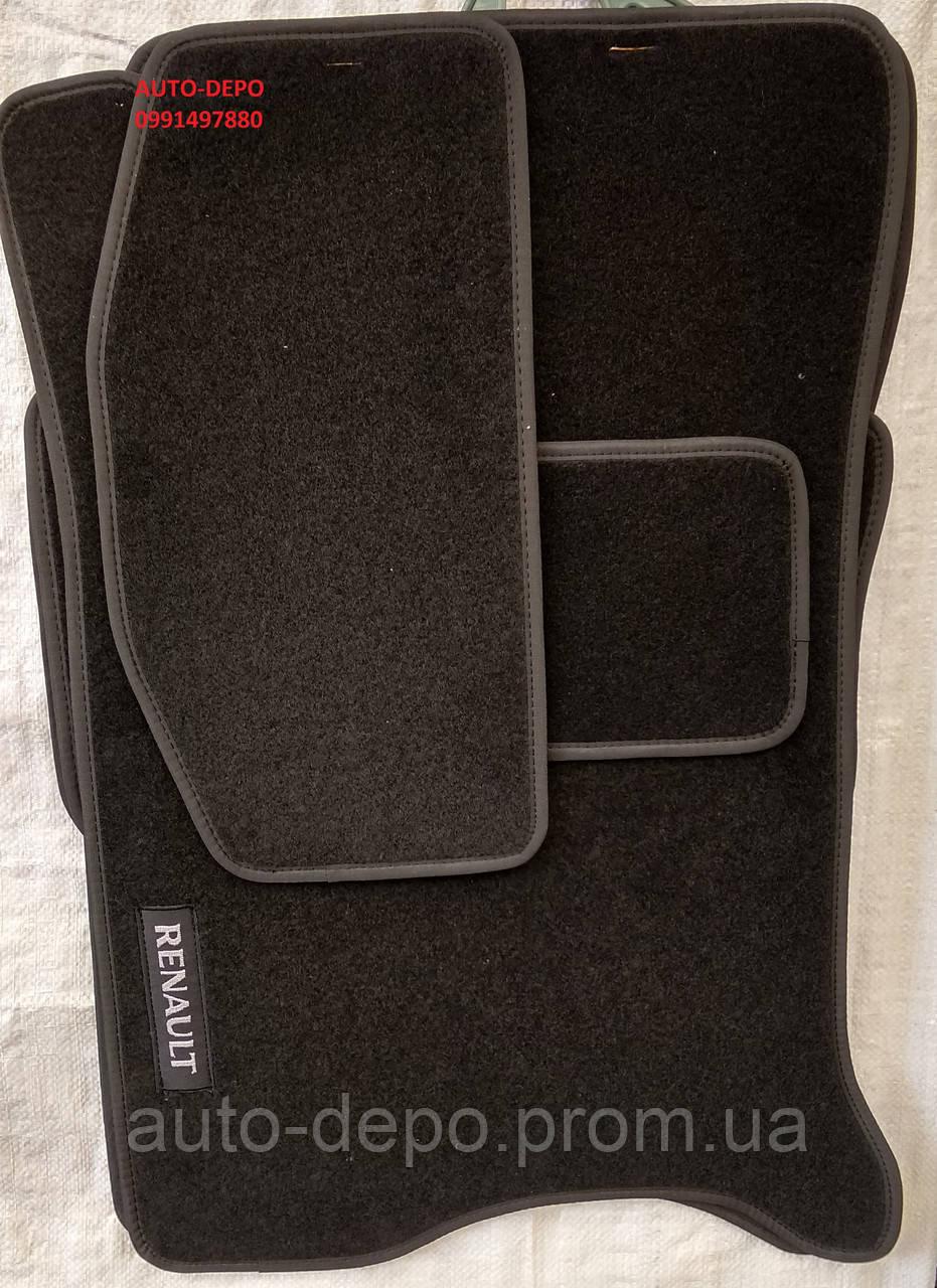 Ворсовые коврики Renault Megane IV 2015-