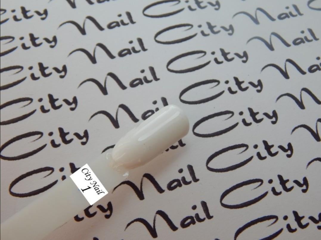 Гель лак CityNail білий 10 мл