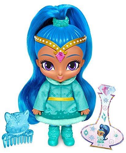 Кукла джин Шайн зимняя Шиммер и Шайн Fisher-Price Shimmer and Shine