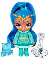 Кукла джин Шайн зимняя м/ф Шиммер и Шайн Фишер Прайс Fisher-Price Shimmer and Shine Winter Wishes, Shine