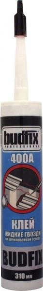 Клей жидкие гвозди BUDFIX 400А на акриловой основе, 310 мл (упаковка 40 шт)