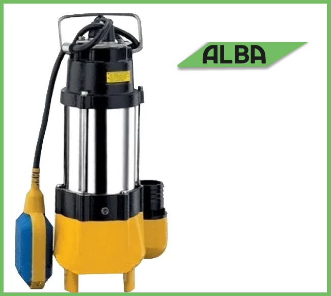 Дренажно-фекальный насос Alba V180F