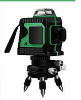 Лазерный уровень 2D Зеленые луч на 360 градусов самовыравнивающийся нивелир