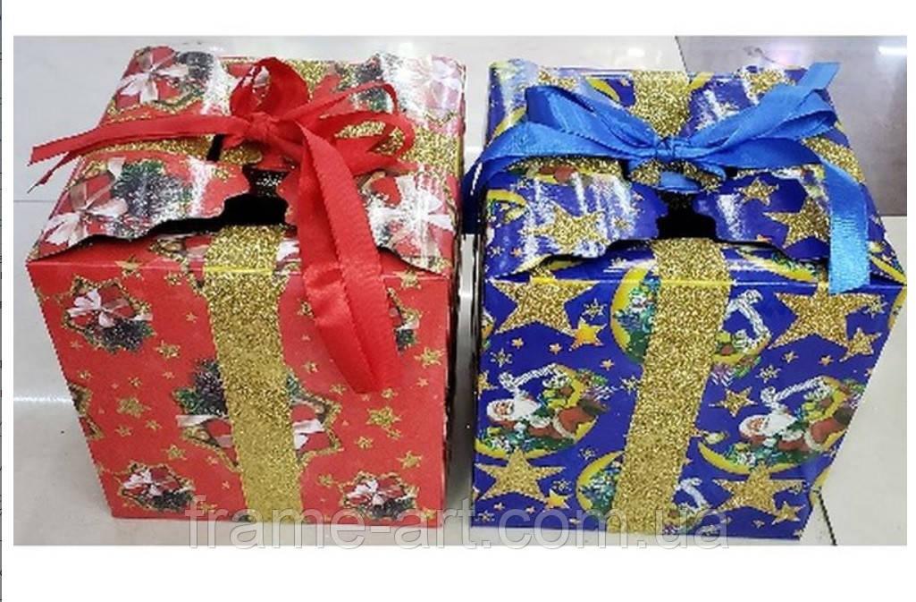 Коробка подарочная бумажная Новый год R87455