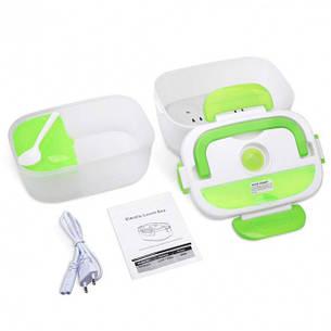 Контейнер для еды ланч бокс термос для еды с подогревом Tina Lunch Box от сети 220В, фото 2