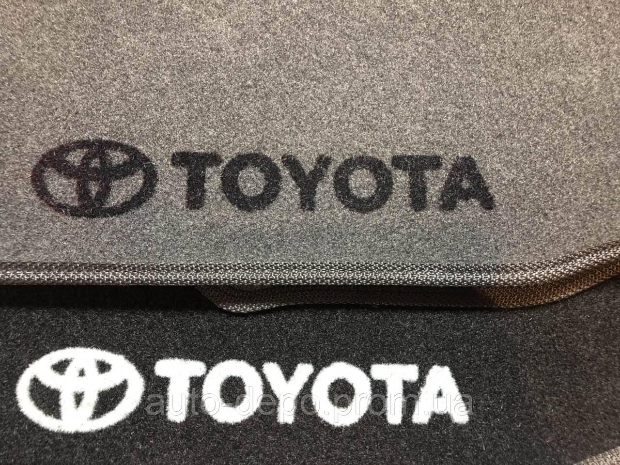 Ворсовые коврики Toyota Land Cruiser 200 2007- VIP