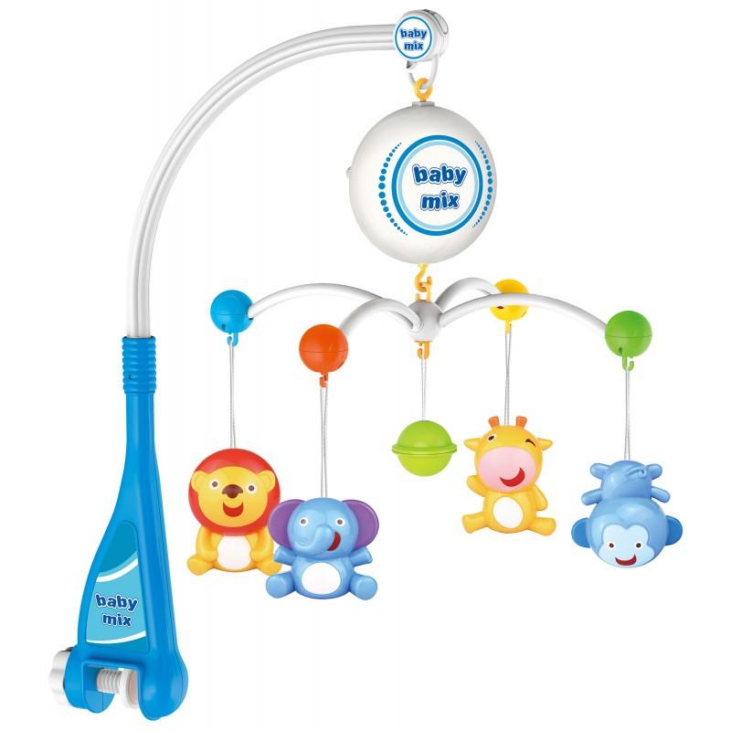 Музыкальный мобиль Baby Mix HS-1669M (звери)