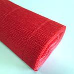 Креп-бумага Италия 50см*2,5м 140г/м2 980 красный