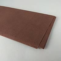 Креп папір в аркушах Коричневий